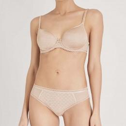 Chantelle Courcelles Convertible T-Shirt  Bra Nude