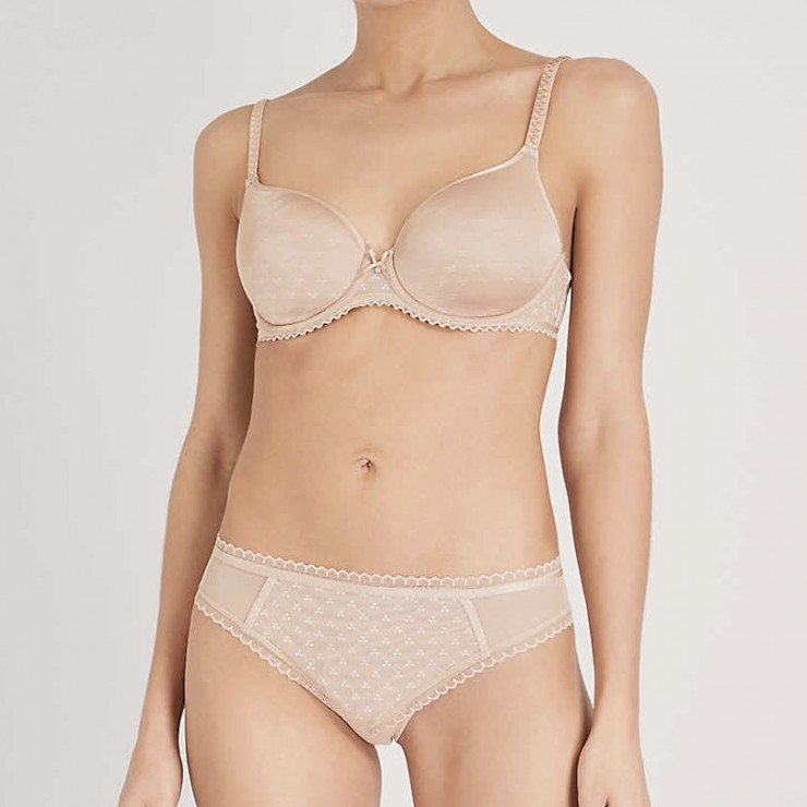 Chantelle Courcelles Convertible Spacer Bra - Nude