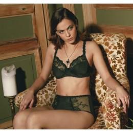 Louisa Bracq Elise Full Cup Bra Green