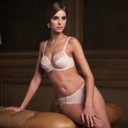 LOUISA BRACQ Elise Bra Nude Rose