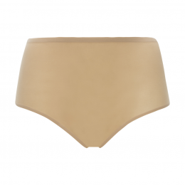 Chantelle Seamless Invisible High Brief - Nude