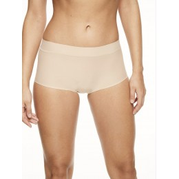 Chantelle Seamless Invisible Boyshort Boxer - Nude