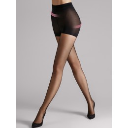 Wolford Individual 10 Shape & Control Tights - Black