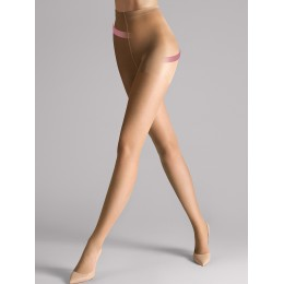 Wolford Individual 10 Shape & Control Tights - Sand