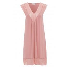 Damella Blush Sleeveless Nightdress
