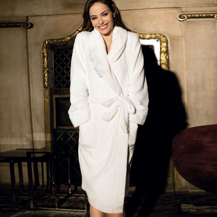 Coemi Dressing gown Cream