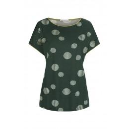 Mey Livi Short Sleeve Pyjama Set Dark Green