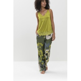 Mey Naima Pyjama Set Mineral Grey/Multi Colour