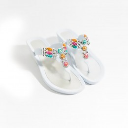 Piarossini Perla Sandal White
