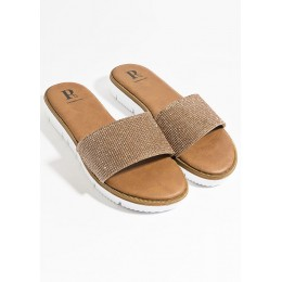 Piarossini Aisha Sandal Rose Gold