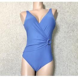 Roidal Tokyo V-Neck Swimsuit Blue