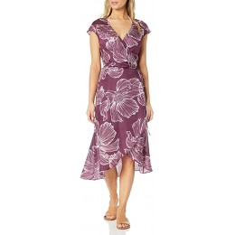 Gottex Lily Wine Long Wrap Beach Dress