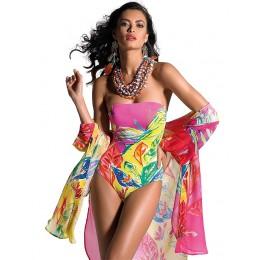 Roidal Colourful Bandeau Swimsuit