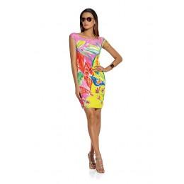 Roidal Colourful Dress sleeveless